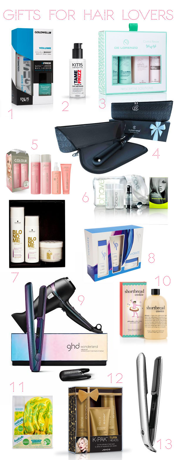 Hair Romance - gifts for hair lovers