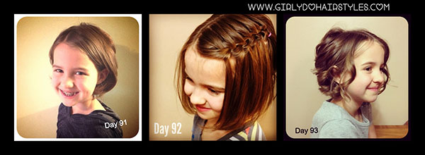 Girly Do Hairstyles - 100 days of hairstyles