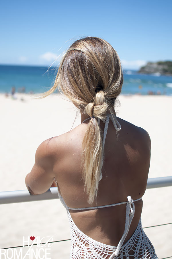 Hair Romance - This Island Life - Double knot ponytail hair tutorial