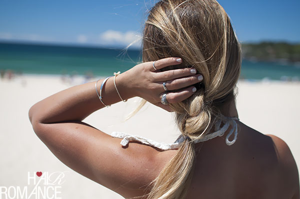 Hair Romance - This Island Life - Double knot ponytail