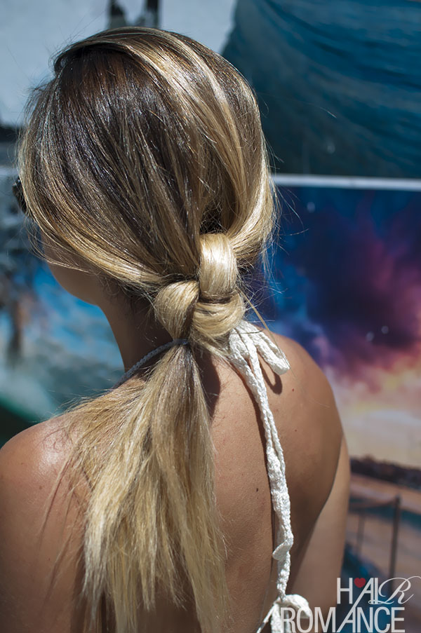 Hair Romance - This Island Life - The Double knot ponytail
