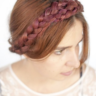 Modern Milkmaid Braids Hairstyle Tutorial