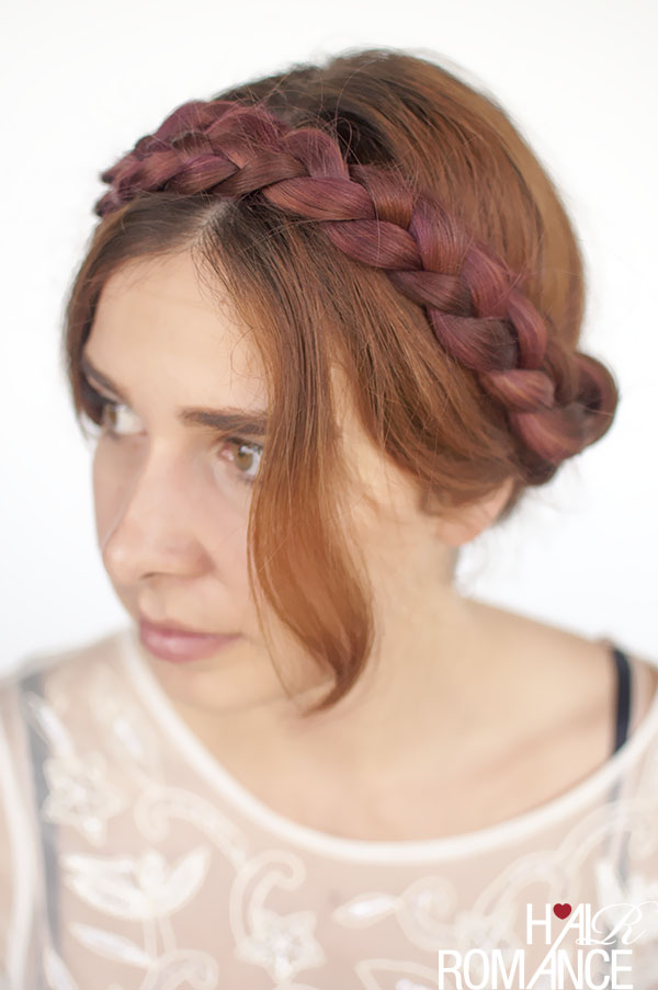 Hair Romance - the modern milkmaid braids hairstyle