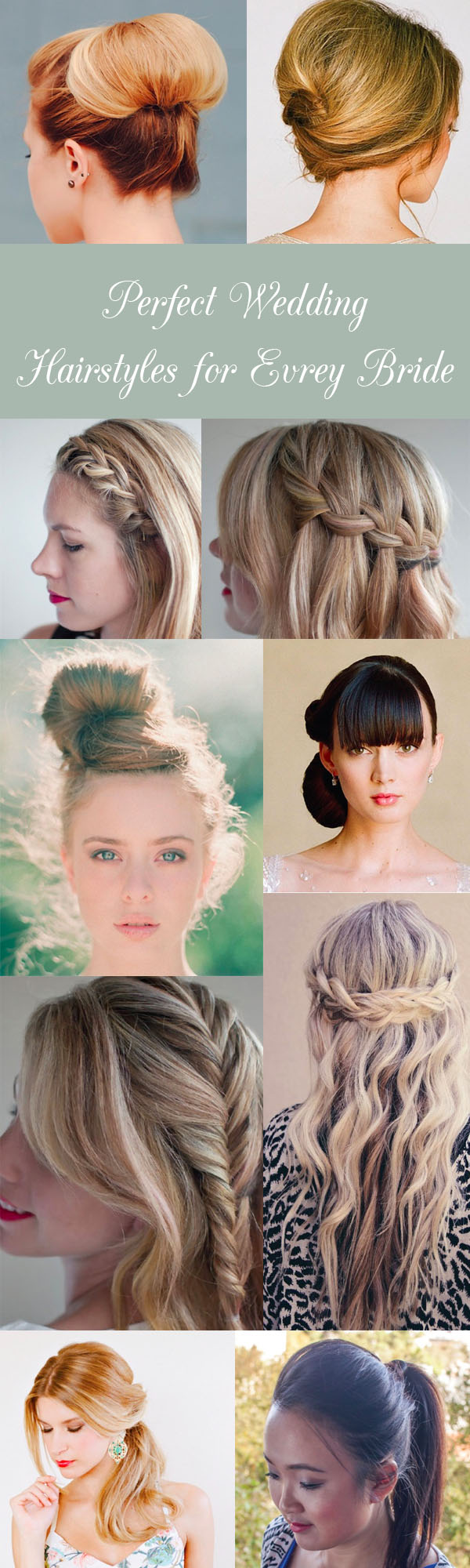 Perfect wedding hairstyles for every bride - Hair Romance
