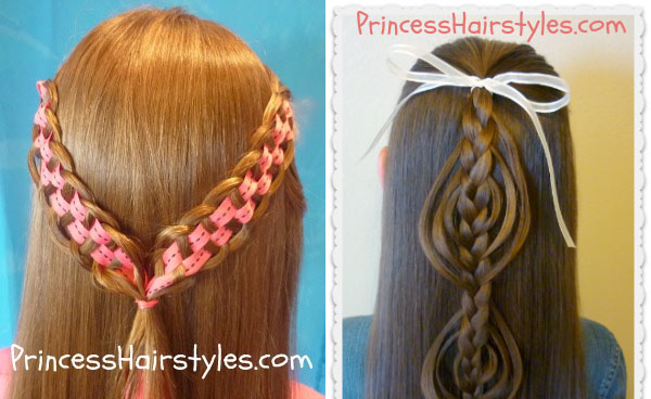 Princess Hairstyles - girls' hair blog