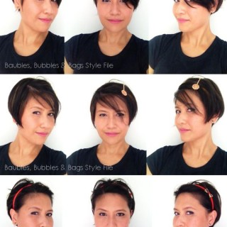 7 ways to style short hair