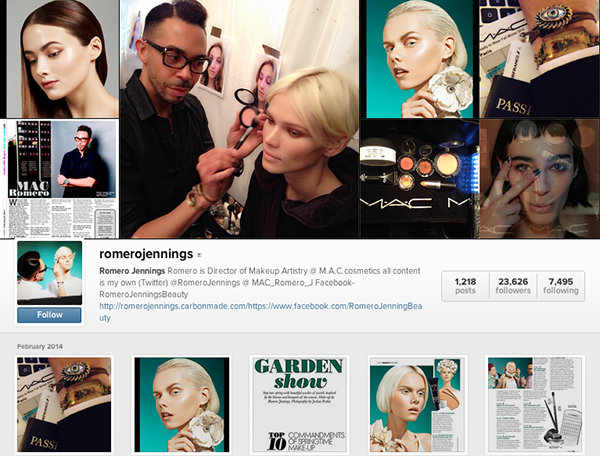Best makeup artists on instagram - Romero Jennings