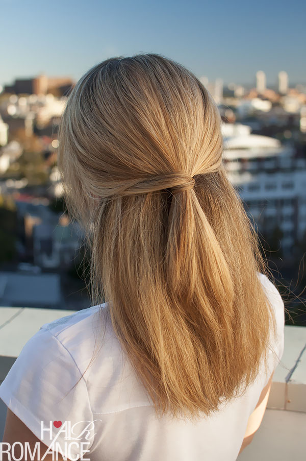 Half Up Hairstyle Inspiration Hair Romance