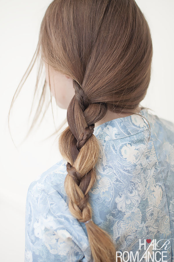 Hair Romance - braid in a side braid