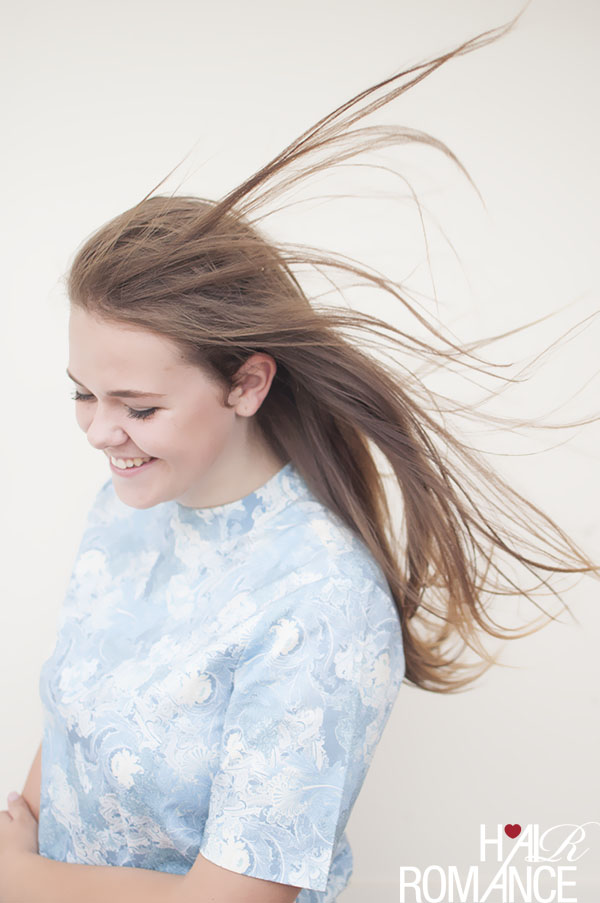 Hair Romance hair tutorial - breezy double knot details