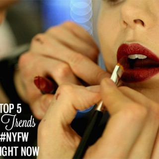 The Top 5 Beauty Trends from #NYFW Fall 2014 to try right now