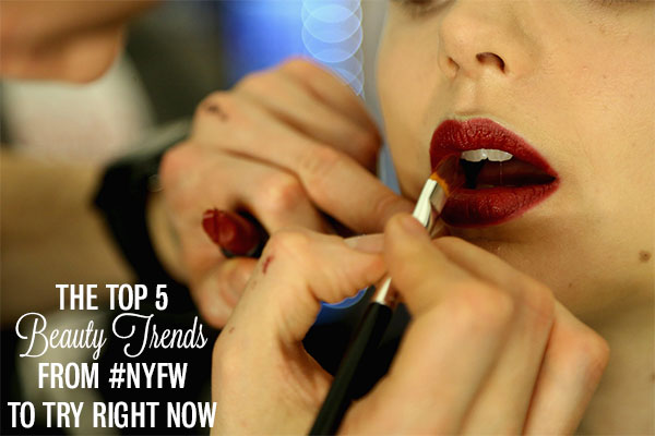Hair Romance - the top 5 beauty trends from NYFW to try right now