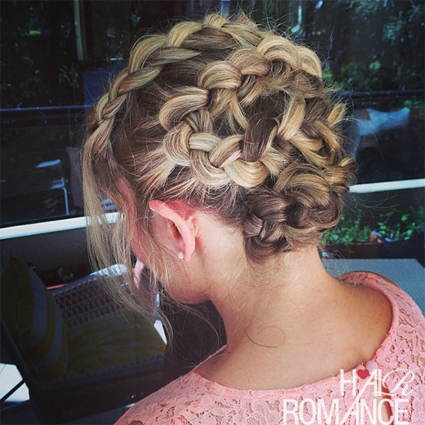 Hair Romance - twisting s curve braid