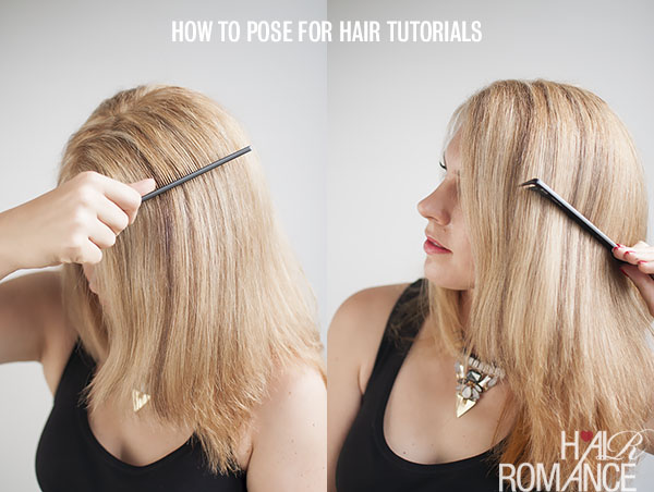 How to comb your hair in photos - Hair Romance