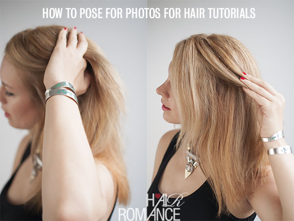 How to post for photos for hair tutorials - @HairRomance