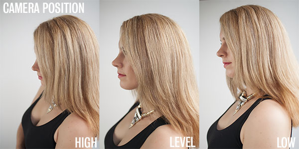 Where to position your camera - Hair Romance photo tutorial