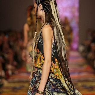 Big Hair Friday – Tribal dreads at Camilla VAMFF