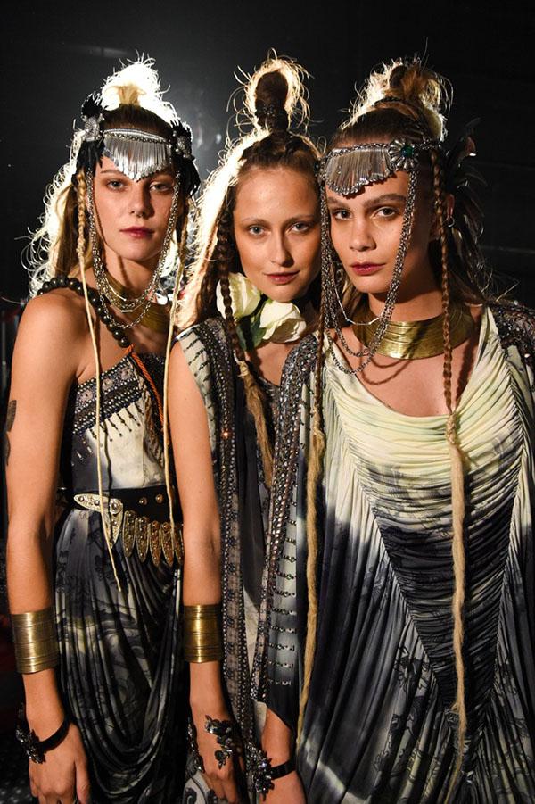 Big Hair Friday - Tribal dreads at Camilla VAMFF 4
