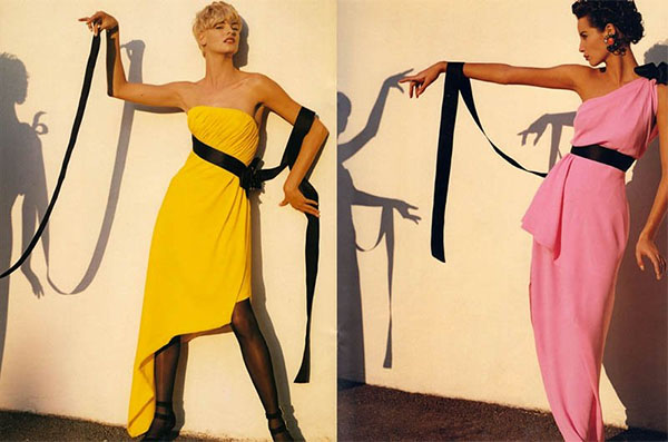 Christy Turlington and Linda Evangelista - Chanel ad from 1990s