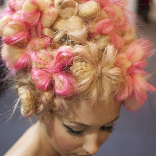 Big Hair Friday – Flowers made of hair