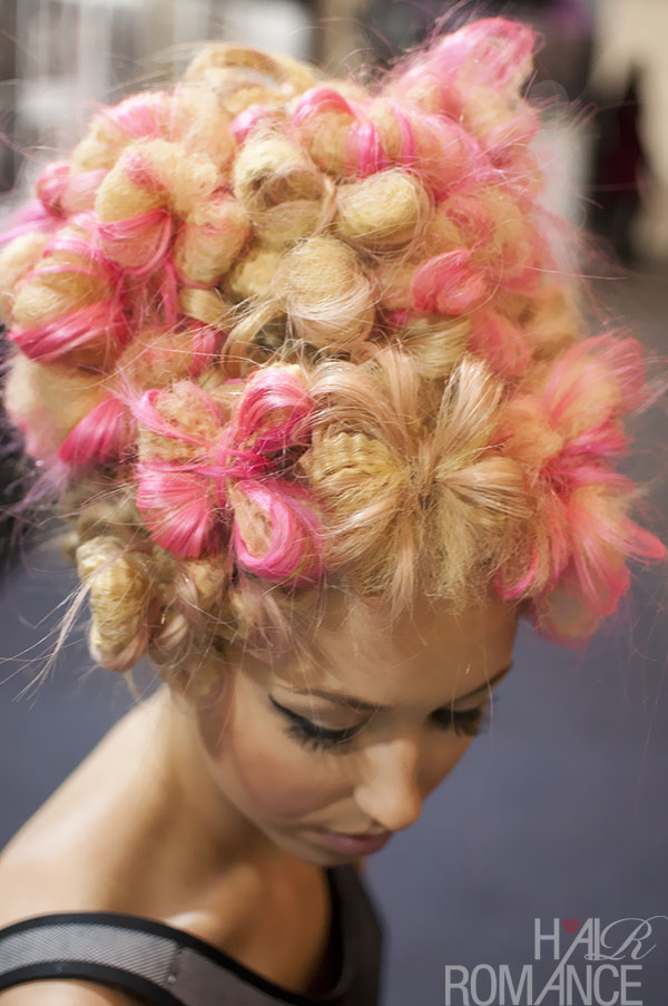 Hair Romance - Big Hair Friday - hair flowers