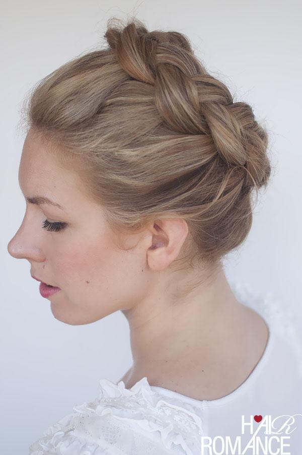 New Braid Tutorial The High Braided Crown Hairstyle Hair Romance
