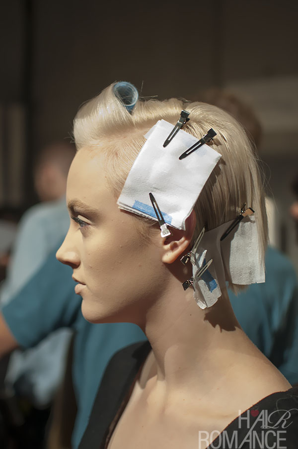 Hair Romance - MBFWA 2013 flashback 1