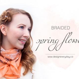 Spring Flower Hairstyle Tutorial