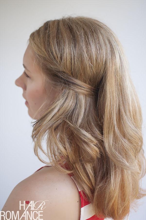 Hair Romance - secret hidden pin hairstyle tutorial