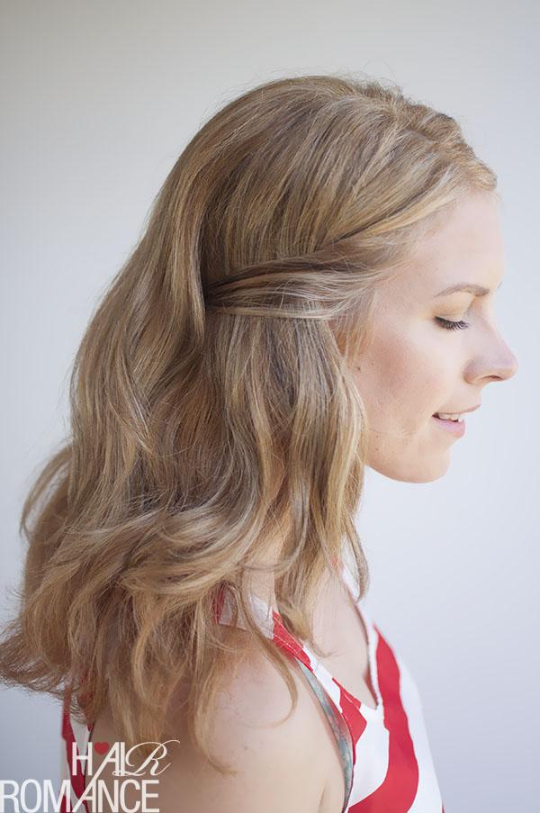 Hair Romance - secret pin hairstyle tutorial