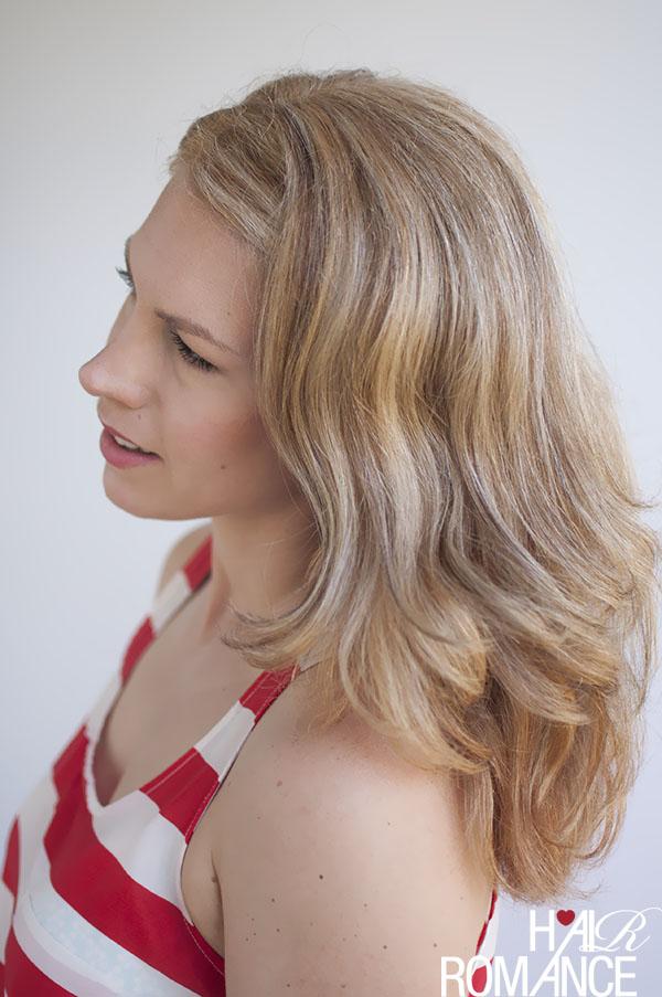 Hair Romance - side pin hair tutorial