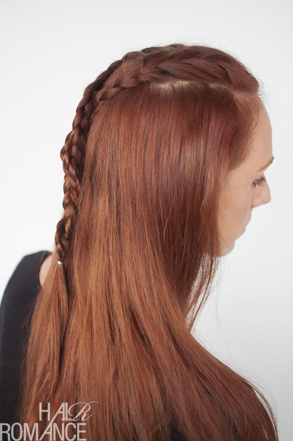 Hair Romance - Game of Thrones hair style tutorials - Sansa Stark braids