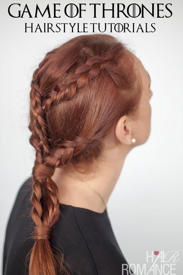 Game Of Thrones Hairstyles Khaleesi Braids Hairstyle Tutorial