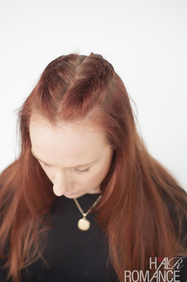 Hair Romance - Game of Thrones hairstyle tutorial - Sansa Stark braids