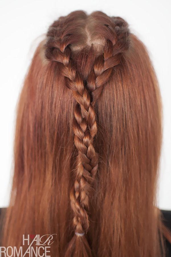 Hair Romance - Game of Thrones hairstyle tutorials - Sansa Stark braids