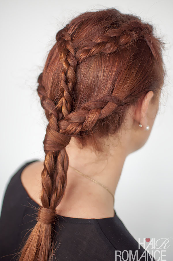 Hair Romance - Game of Thrones hairstyles - Khaleesi braids tutorial