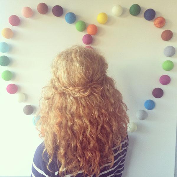 Hair Romance - a week in my hair 3