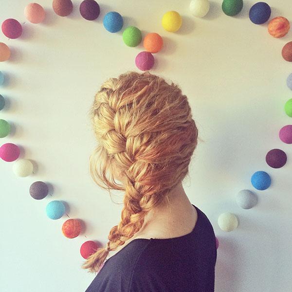 Hair Romance - a week in my hair 6