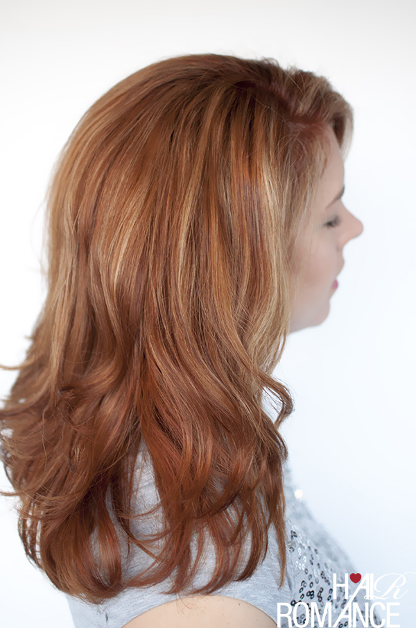 Hair Romance - new copper red hair