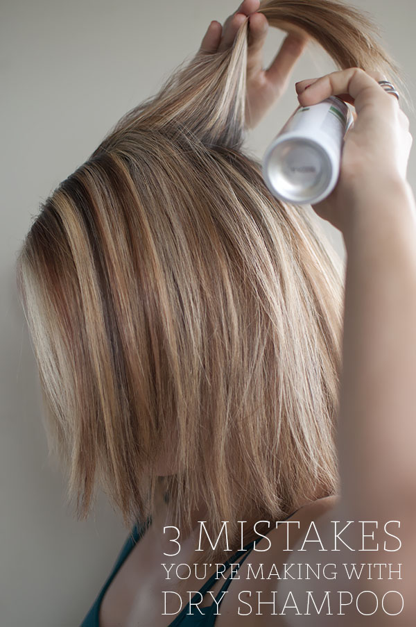 Hair Romance - 3 mistakes you're making with dry shampoo
