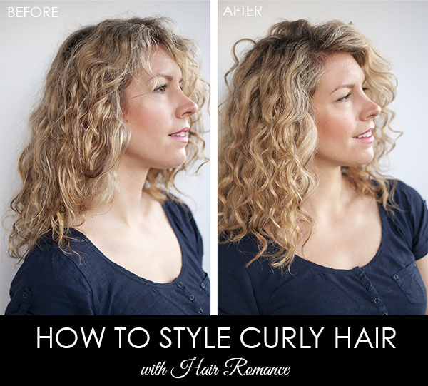 how to style natural hair after the big chop how to style your most beautiful curls hair 5231 | Hair Romance Before and after curly hair style