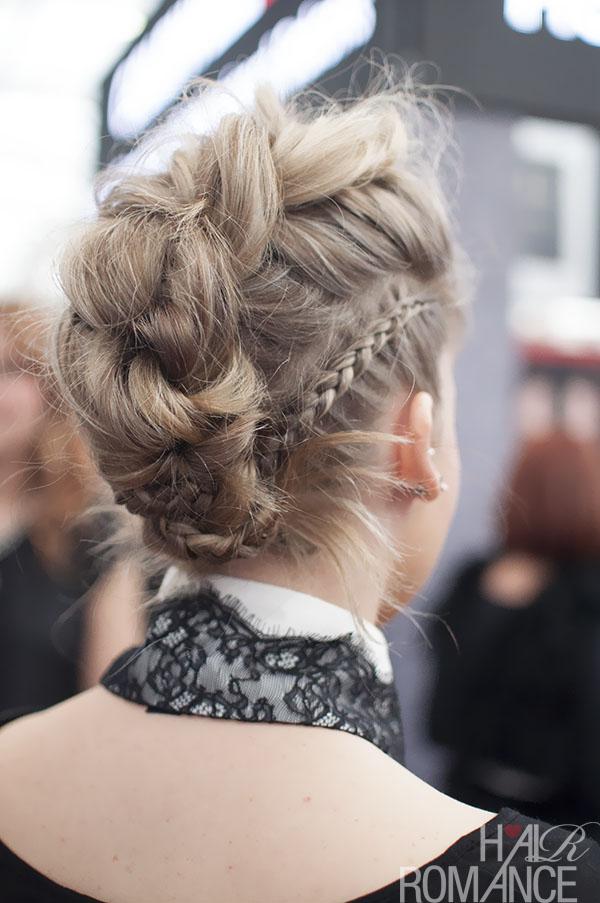 Hair Romance - Gorgeous braids at Hair Expo Sydney 2014