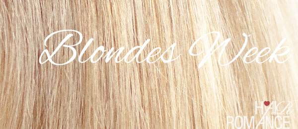 Hair Romance - Blondes Week