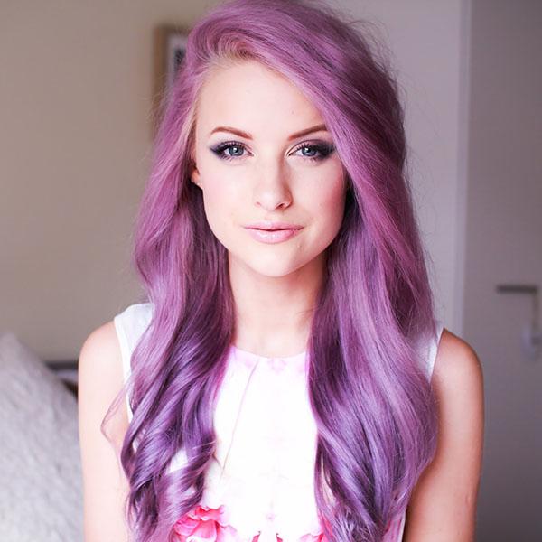 Big Hair Friday - INTHEFROW - purple hair