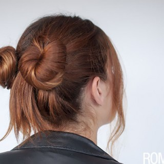 90s inspired #normcore hair tutorial – double buns