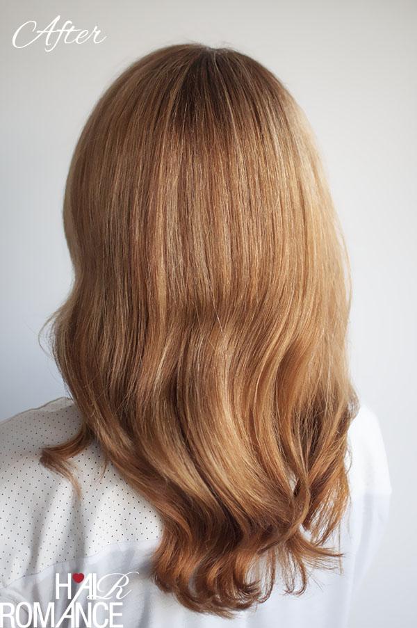 Hair Romance - After - Kerastase Discipline treatment review