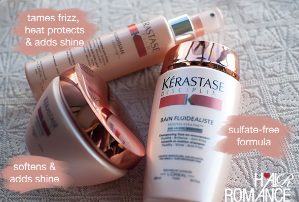 Hair Romance - Kerastase Discipline products review