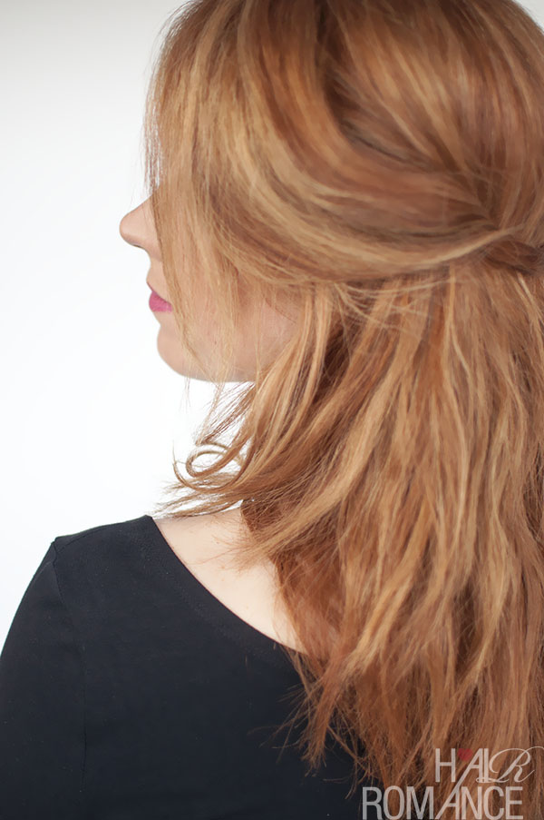 Hair Romance - easy messy waves tutorial with your ghd