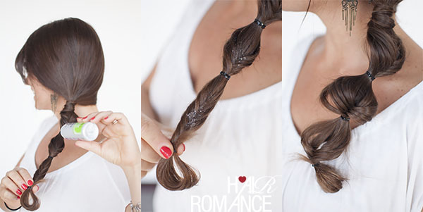 How to stretch out your braids - click through for tutorial on Hair Romance