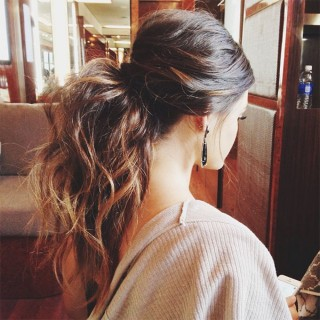 Big Hair Friday – Ponytails